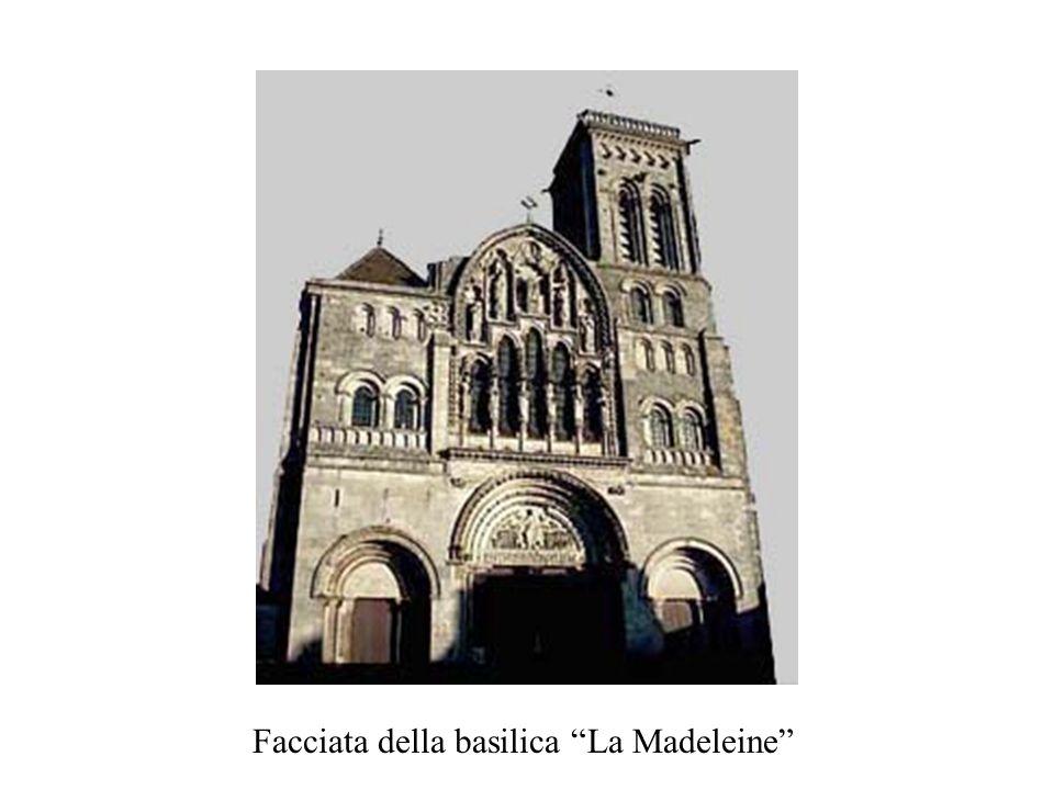 Facciata della basilica La Madeleine