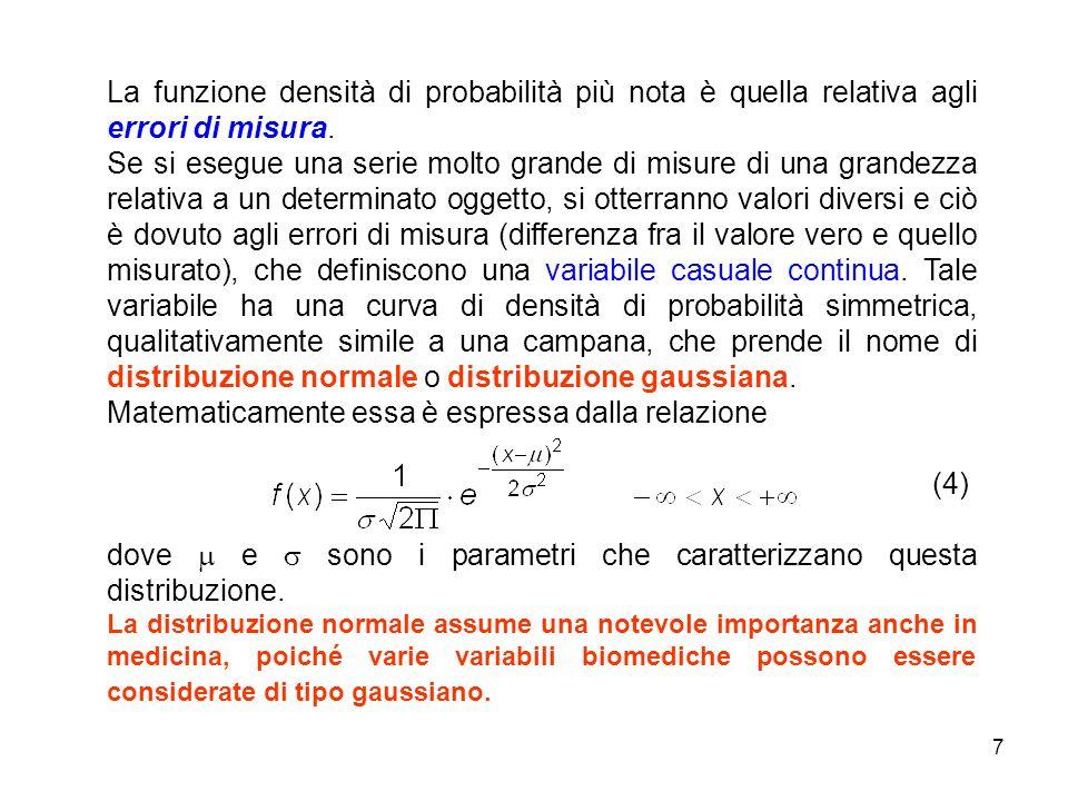 Matematicamente essa è espressa dalla relazione (4)