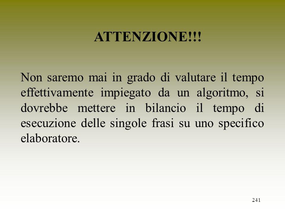 ATTENZIONE!!!