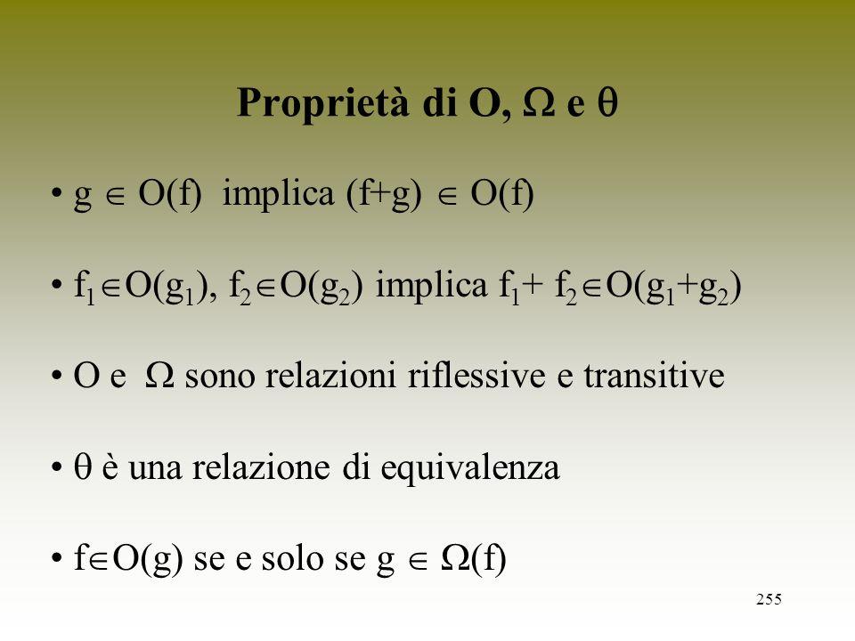 Proprietà di O,  e  g  O(f) implica (f+g)  O(f)