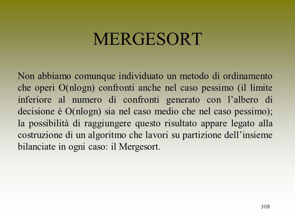 MERGESORT