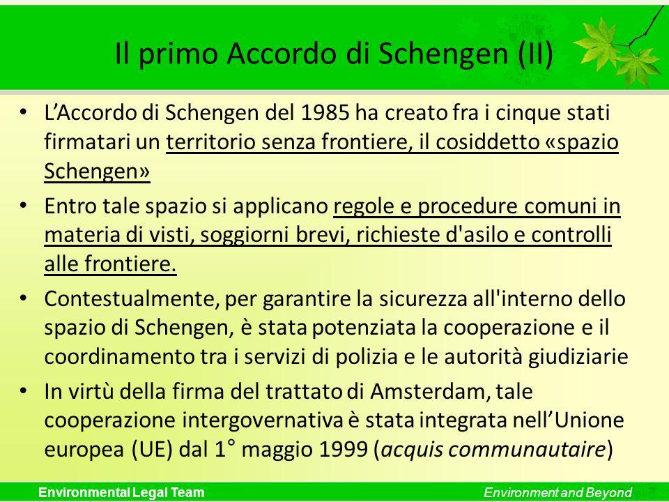Il primo Accordo di Schengen (II)