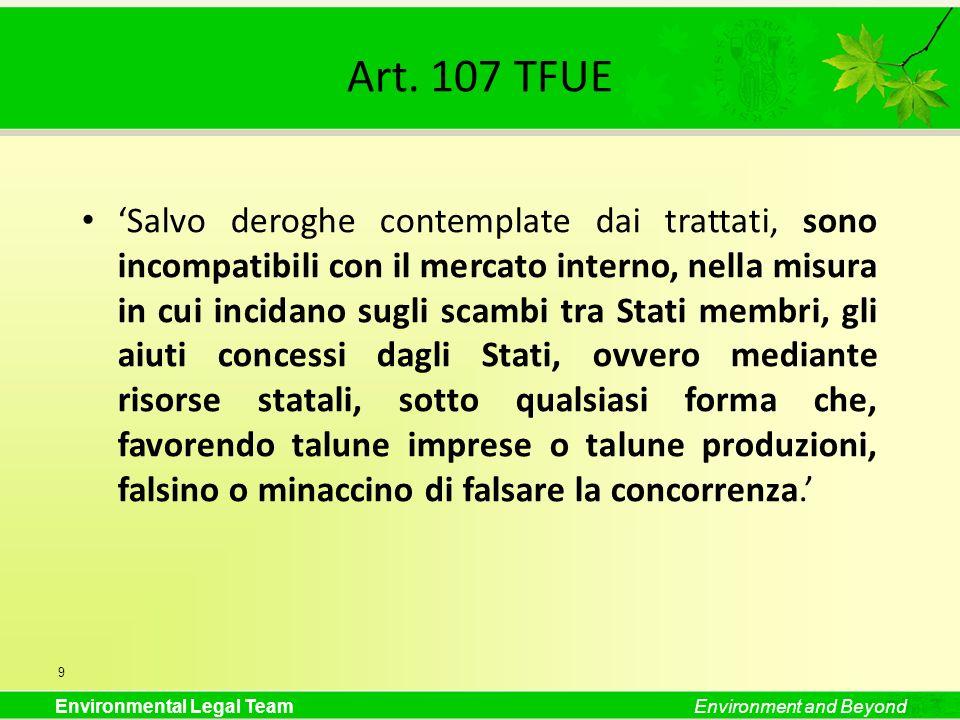 Art. 107 TFUE