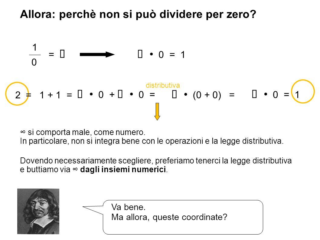 Allora: perchè non si può dividere per zero