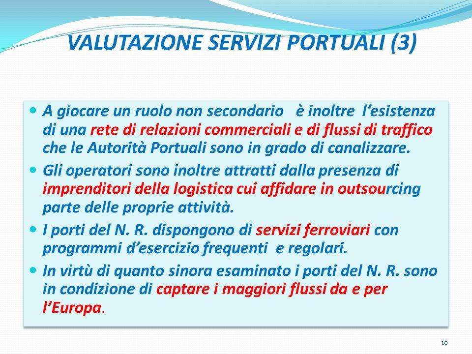 VALUTAZIONE SERVIZI PORTUALI (3)