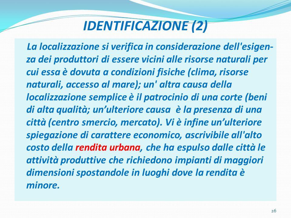 IDENTIFICAZIONE (2)