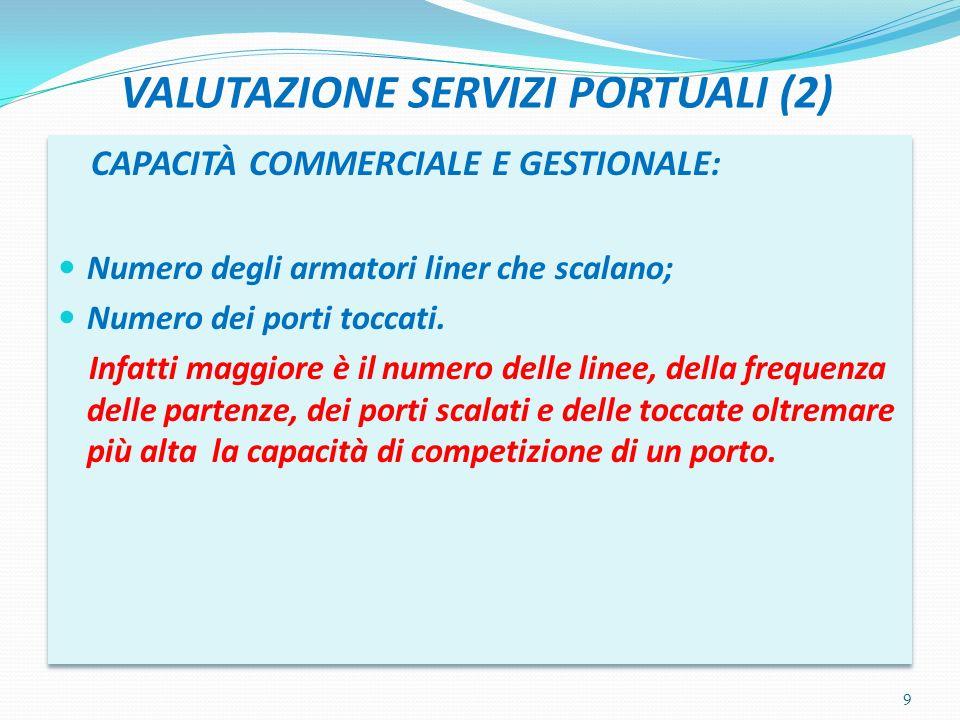 VALUTAZIONE SERVIZI PORTUALI (2)
