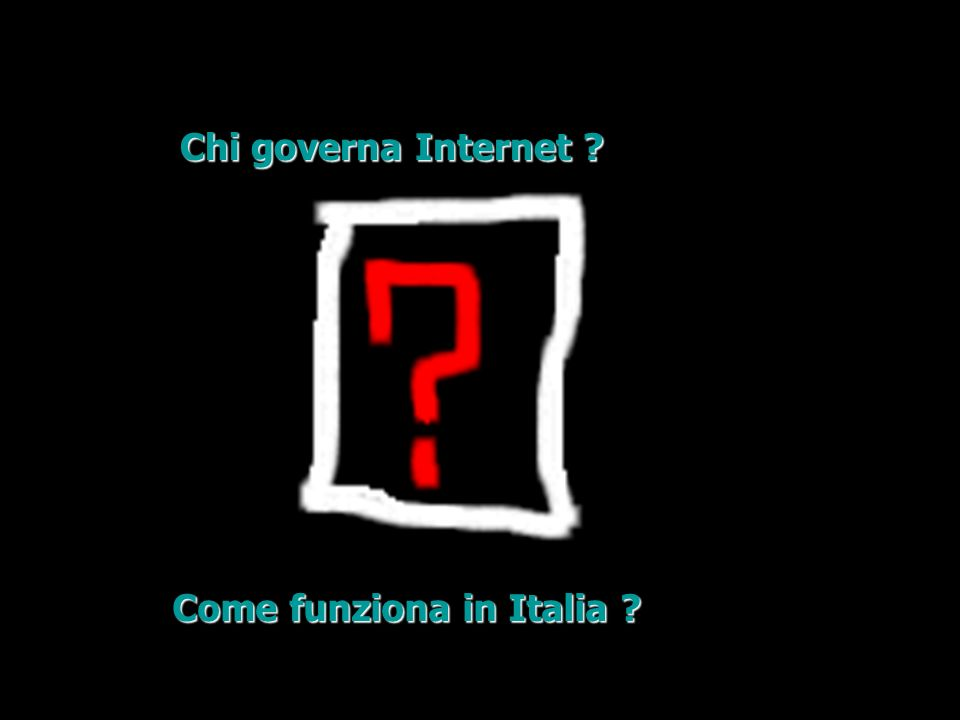 Chi governa Internet Come funziona in Italia