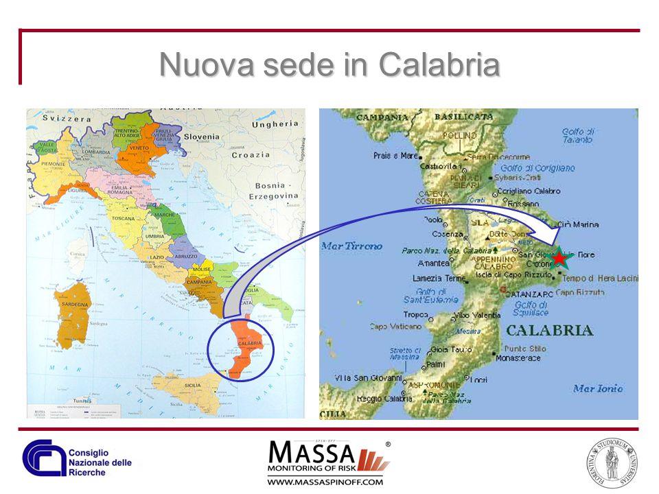 Nuova sede in Calabria