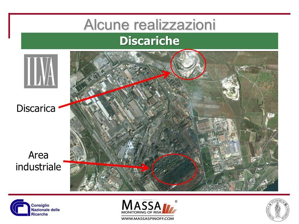 Alcune realizzazioni Discariche Discarica Area industriale