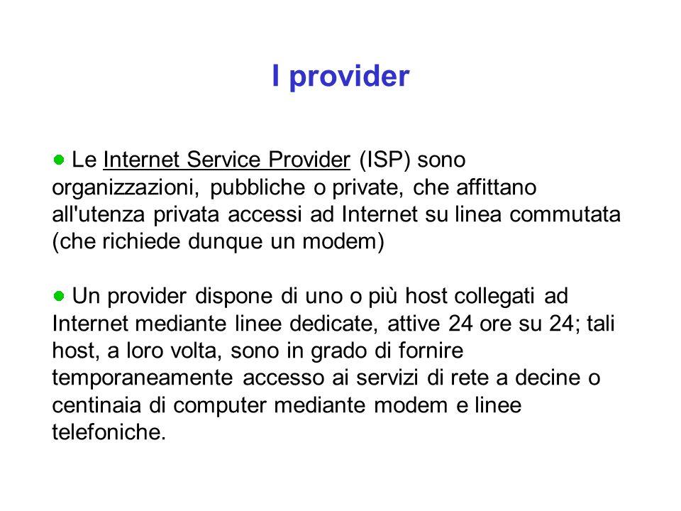 I provider