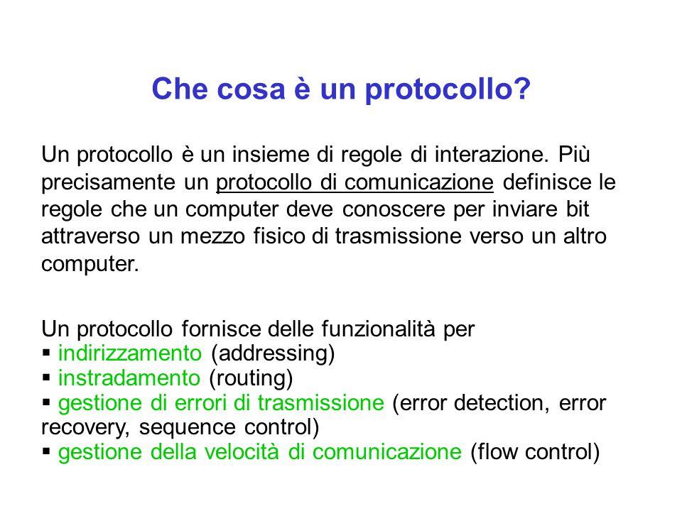 Che cosa è un protocollo