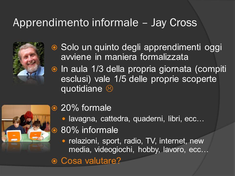 Apprendimento informale – Jay Cross