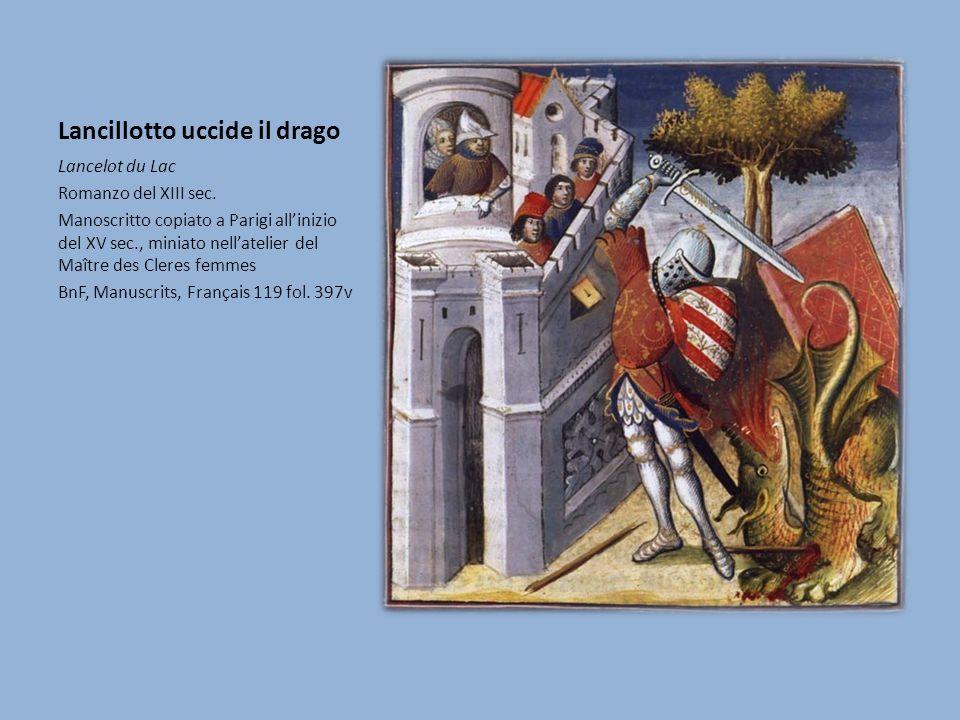 Lancillotto uccide il drago