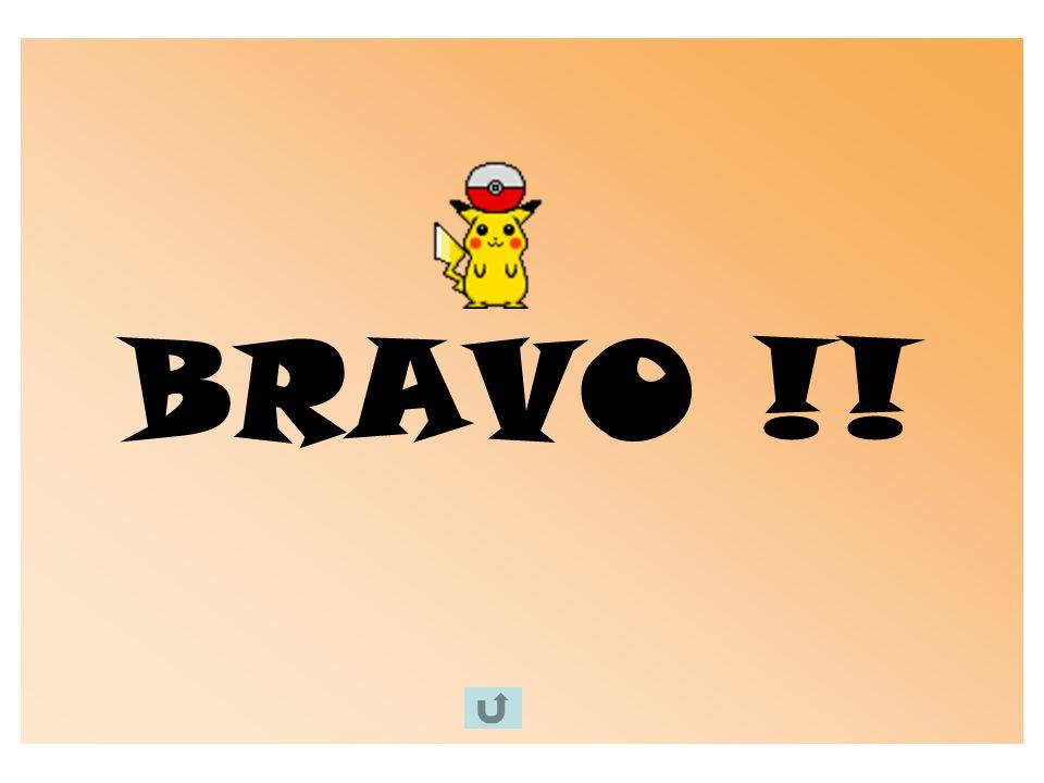 BRAVO !!