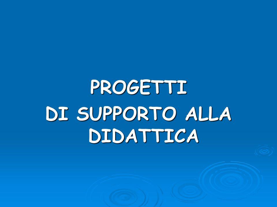 DI SUPPORTO ALLA DIDATTICA