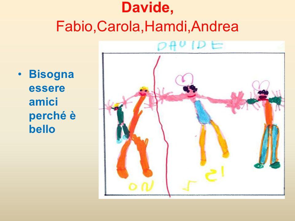 Davide, Fabio,Carola,Hamdi,Andrea