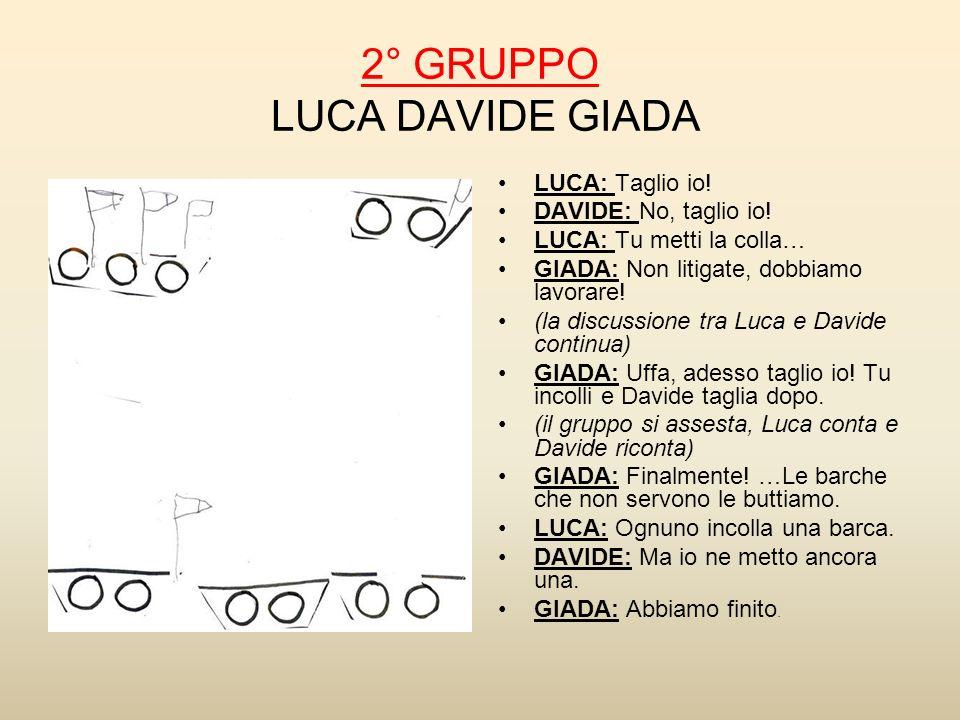 2° GRUPPO LUCA DAVIDE GIADA
