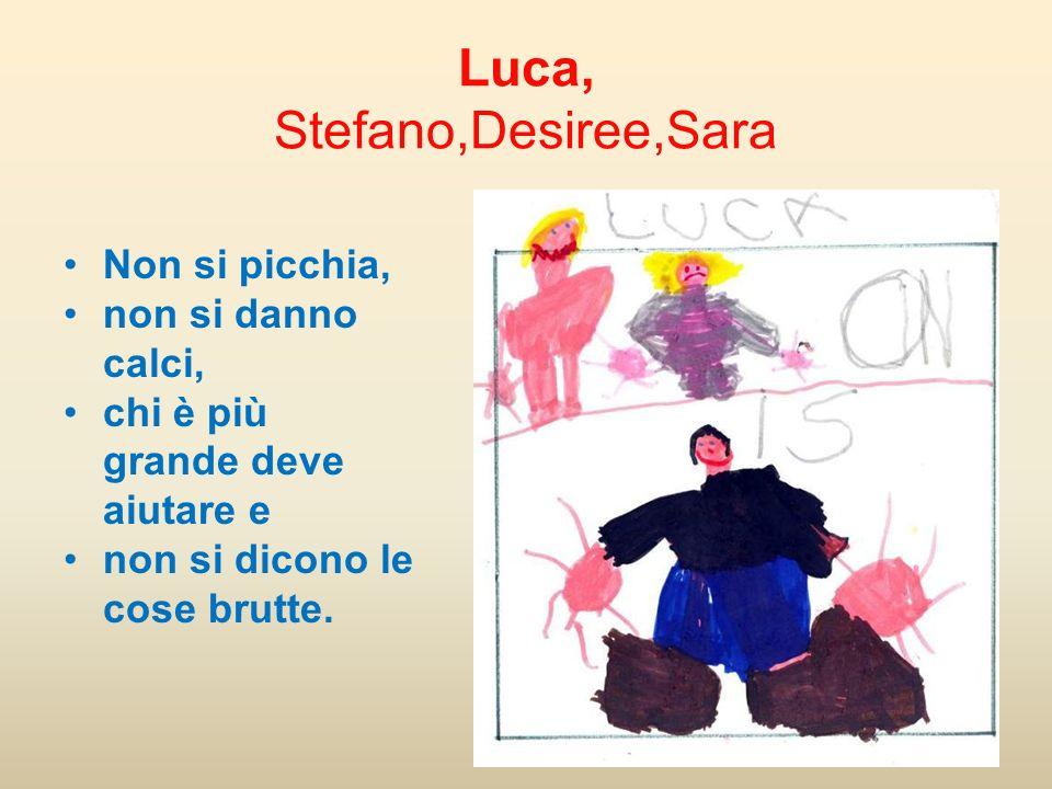 Luca, Stefano,Desiree,Sara
