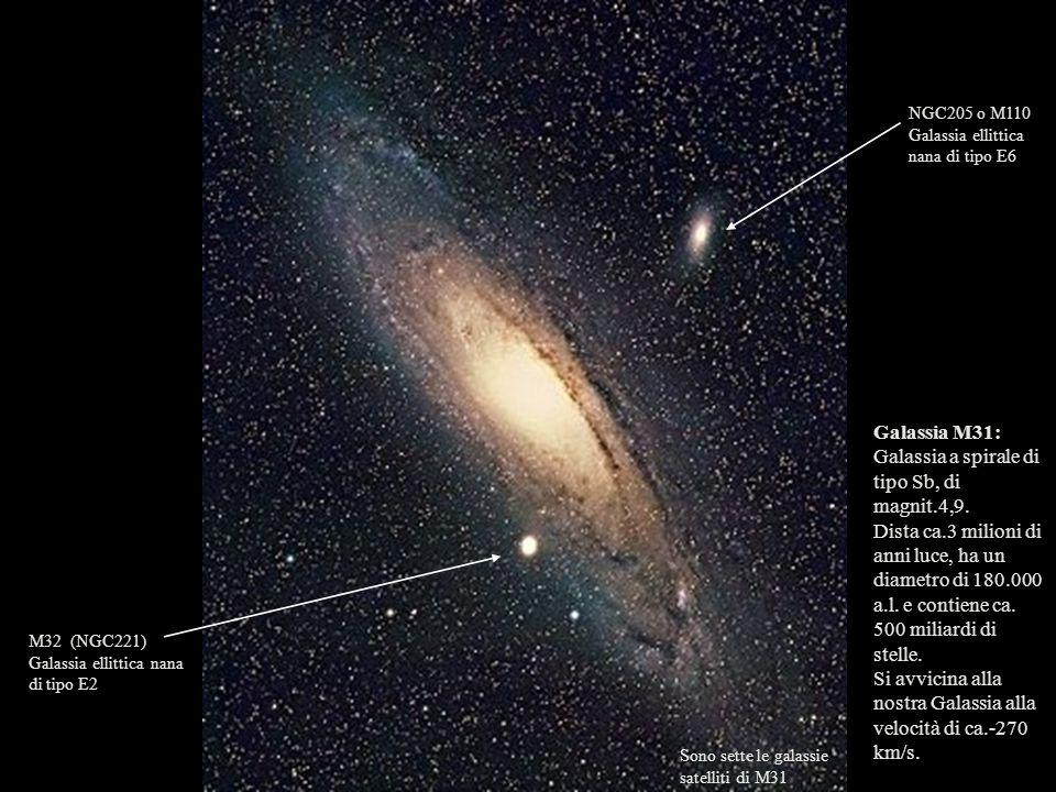 NGC205 o M110 Galassia ellittica nana di tipo E6