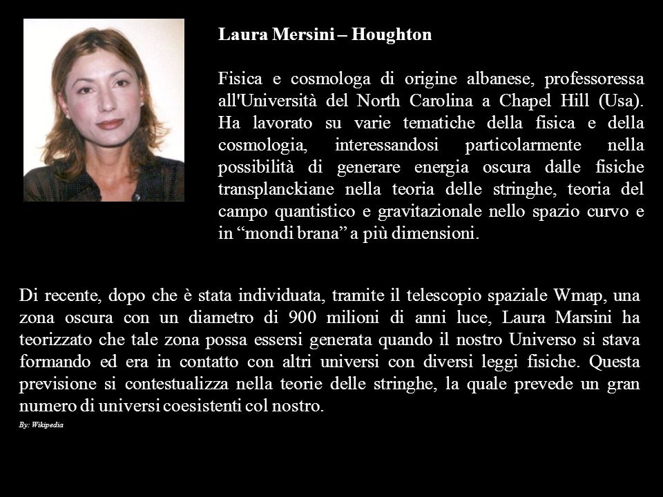 Laura Mersini – Houghton