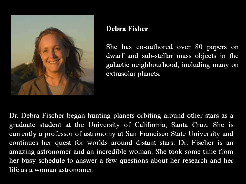 Debra Fisher