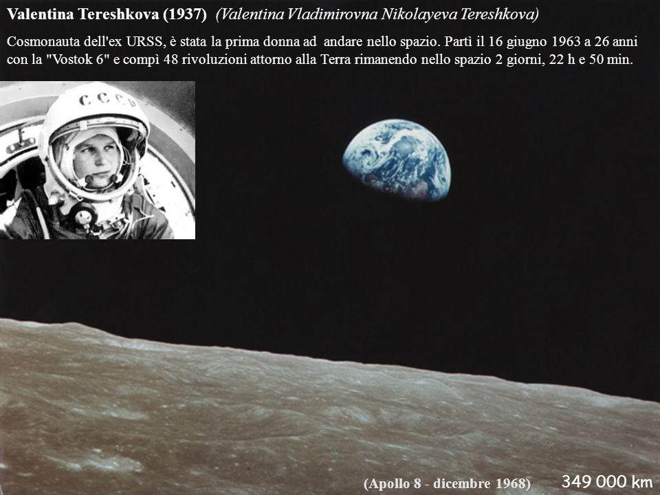 Valentina Tereshkova (1937) (Valentina Vladimirovna Nikolayeva Tereshkova)