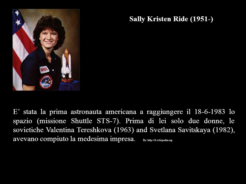 Sally Kristen Ride (1951-)