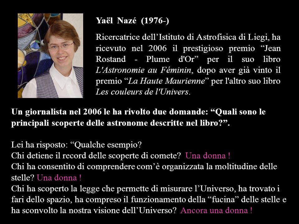 Yaël Nazé (1976-)