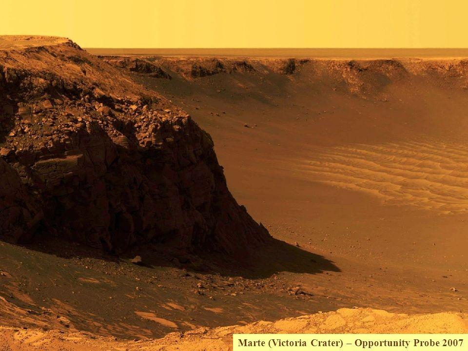 Marte (Victoria Crater) – Opportunity Probe 2007