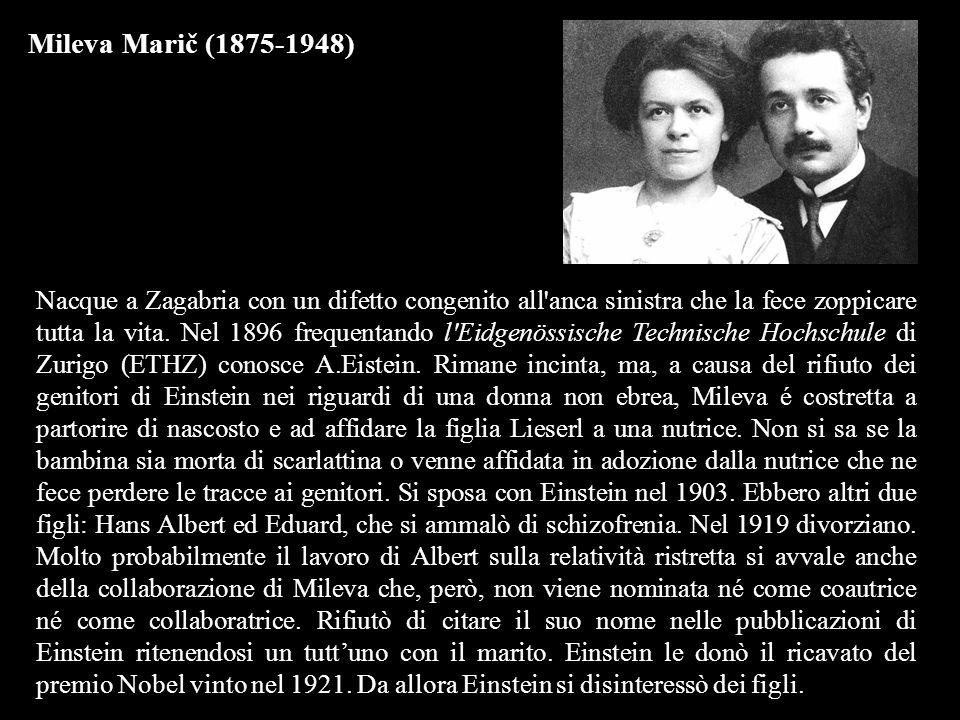 Mileva Marič (1875-1948)