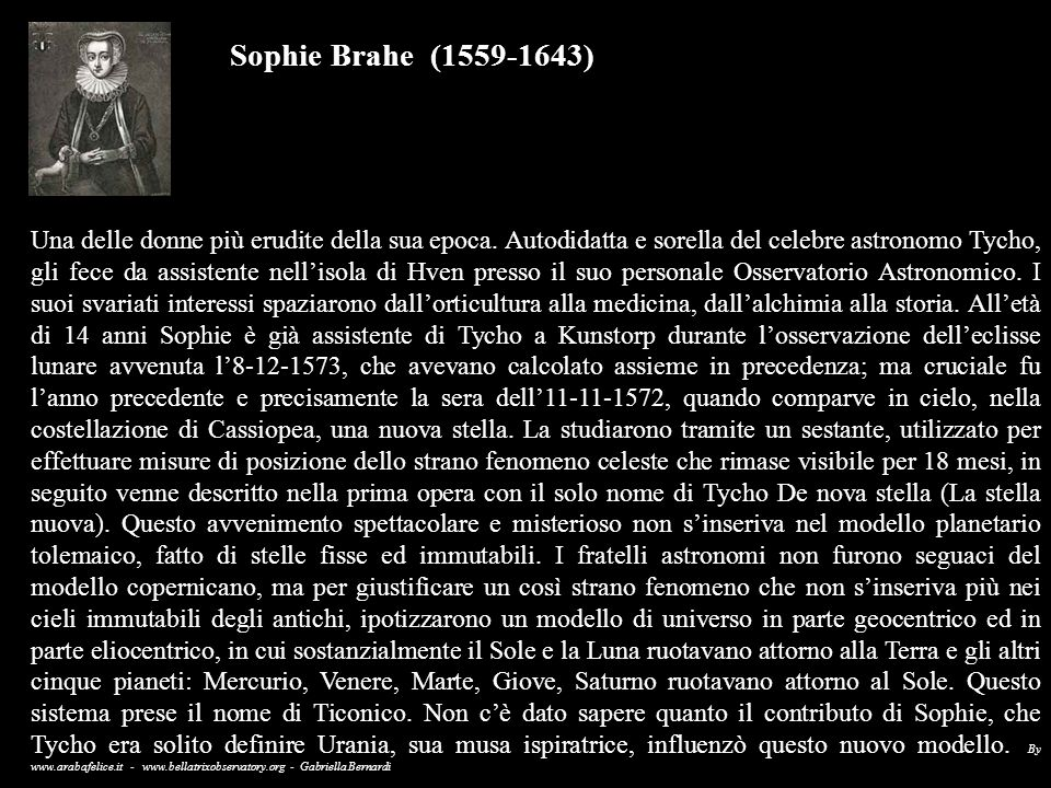 Sophie Brahe (1559-1643)