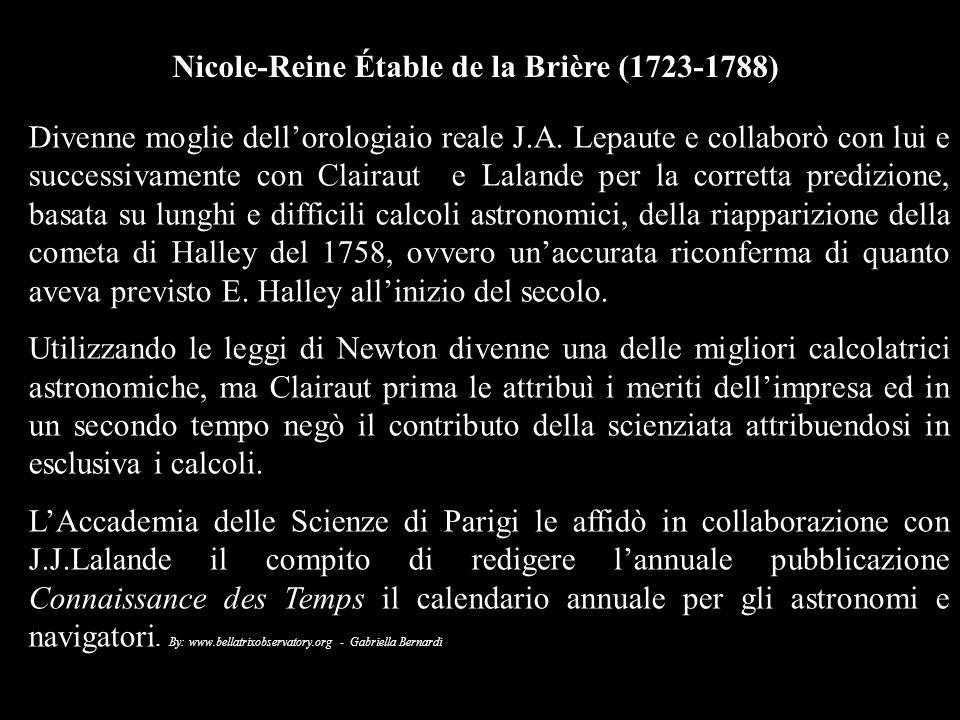Nicole-Reine Étable de la Brière (1723-1788)