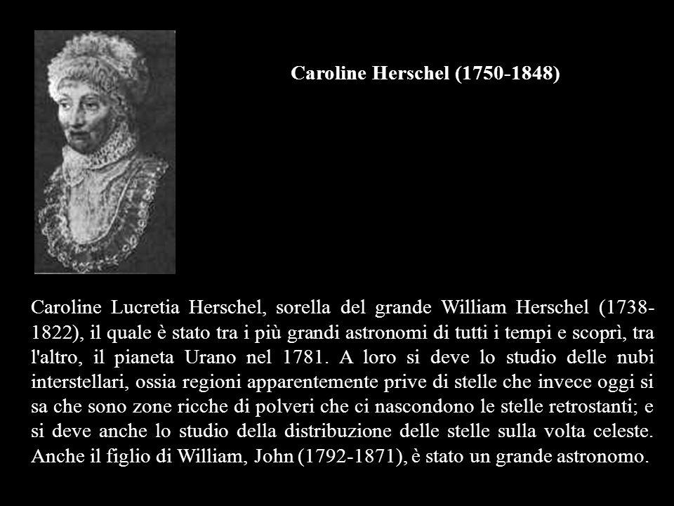 Caroline Herschel (1750-1848)