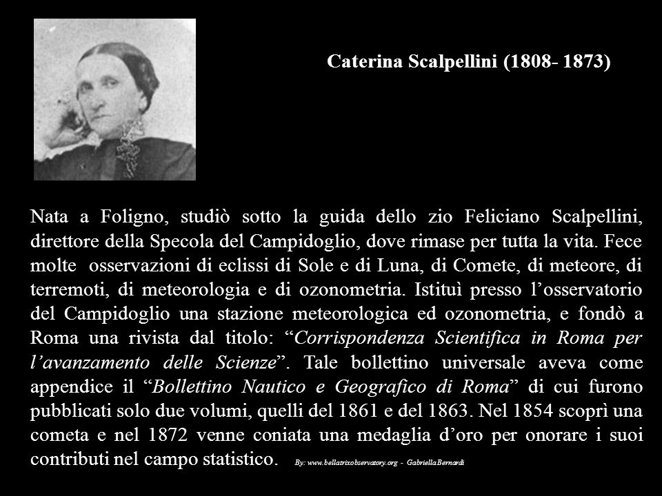 Caterina Scalpellini (1808- 1873)