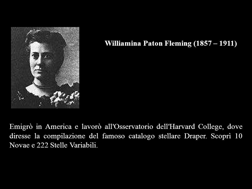 Williamina Paton Fleming (1857 – 1911)