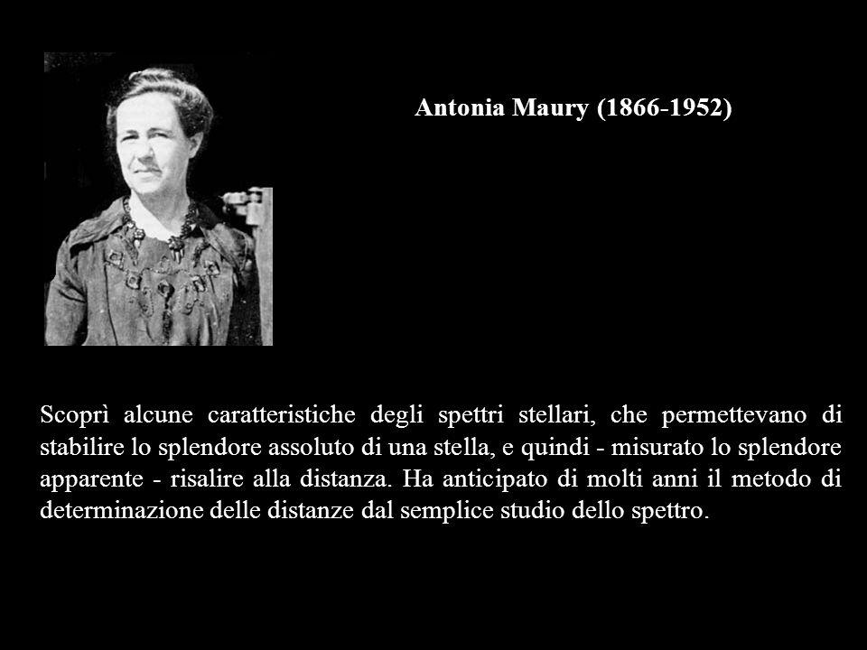 Antonia Maury (1866-1952)
