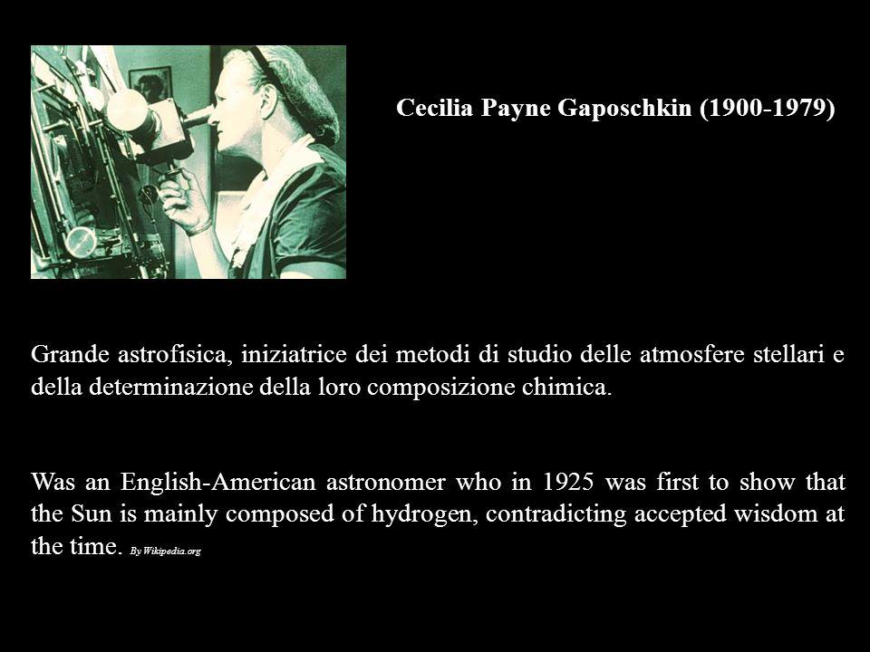 Cecilia Payne Gaposchkin (1900-1979)