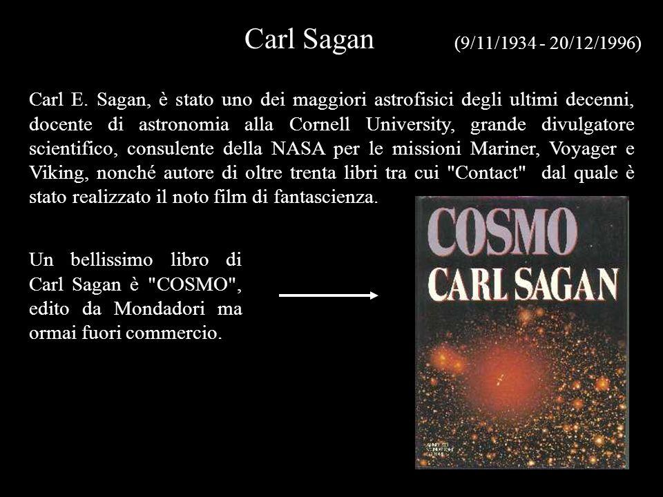 Carl Sagan (9/11/1934 - 20/12/1996)