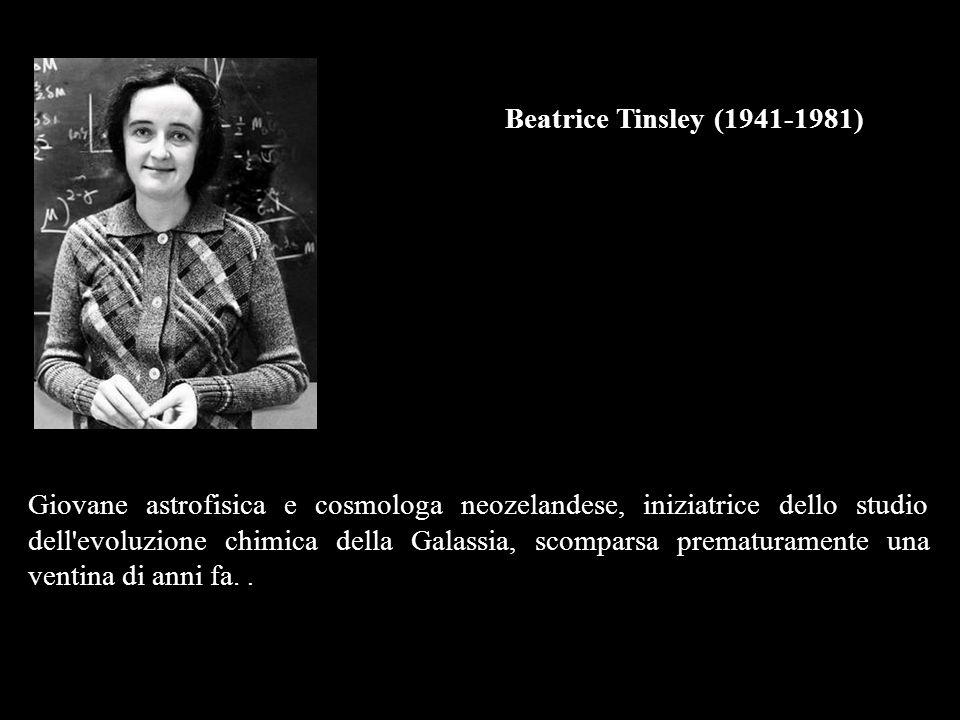 Beatrice Tinsley (1941-1981)