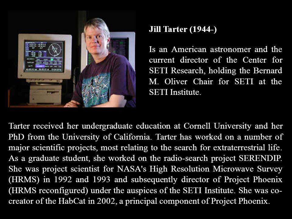 Jill Tarter (1944-)