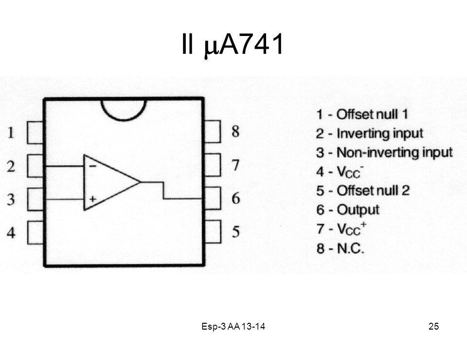 Il mA741 Esp-3 AA 13-14