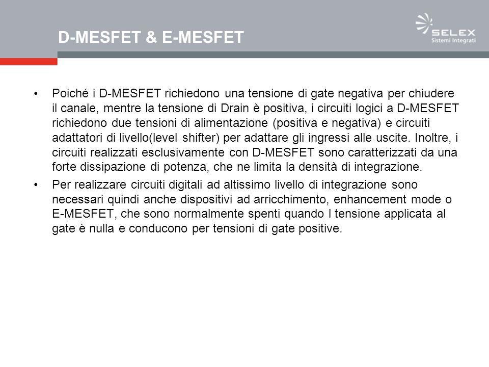 D-MESFET & E-MESFET