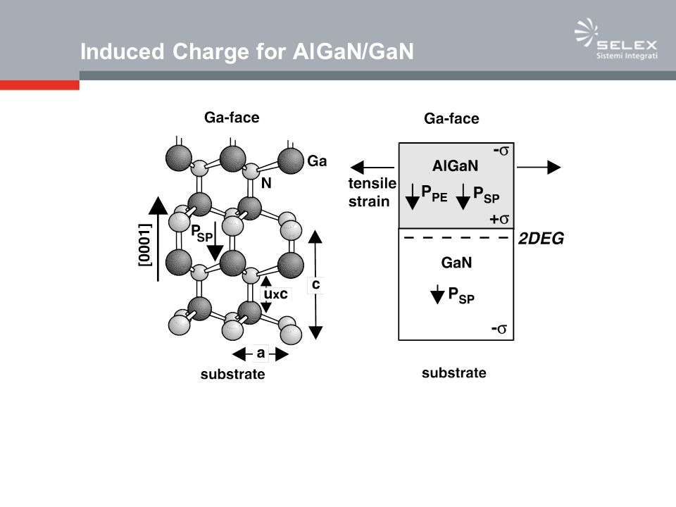 Induced Charge for AlGaN/GaN