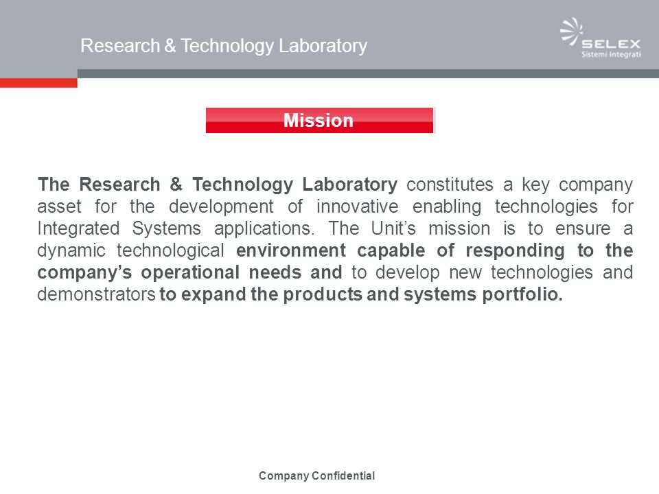 Research & Technology Laboratory
