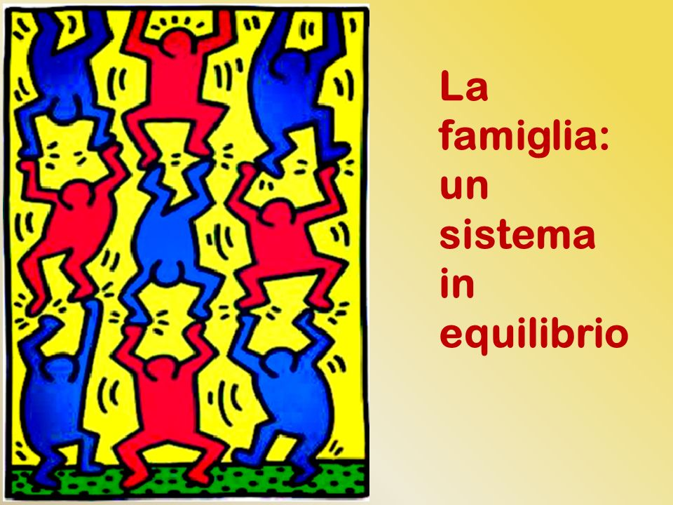 La famiglia: un sistema in equilibrio