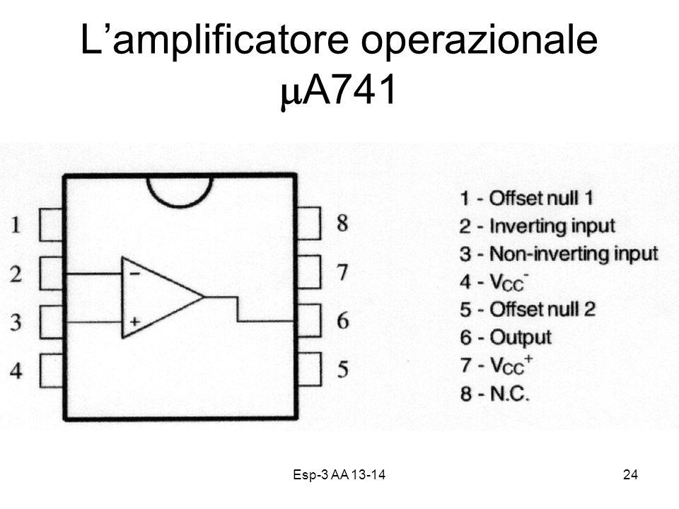 L'amplificatore operazionale mA741