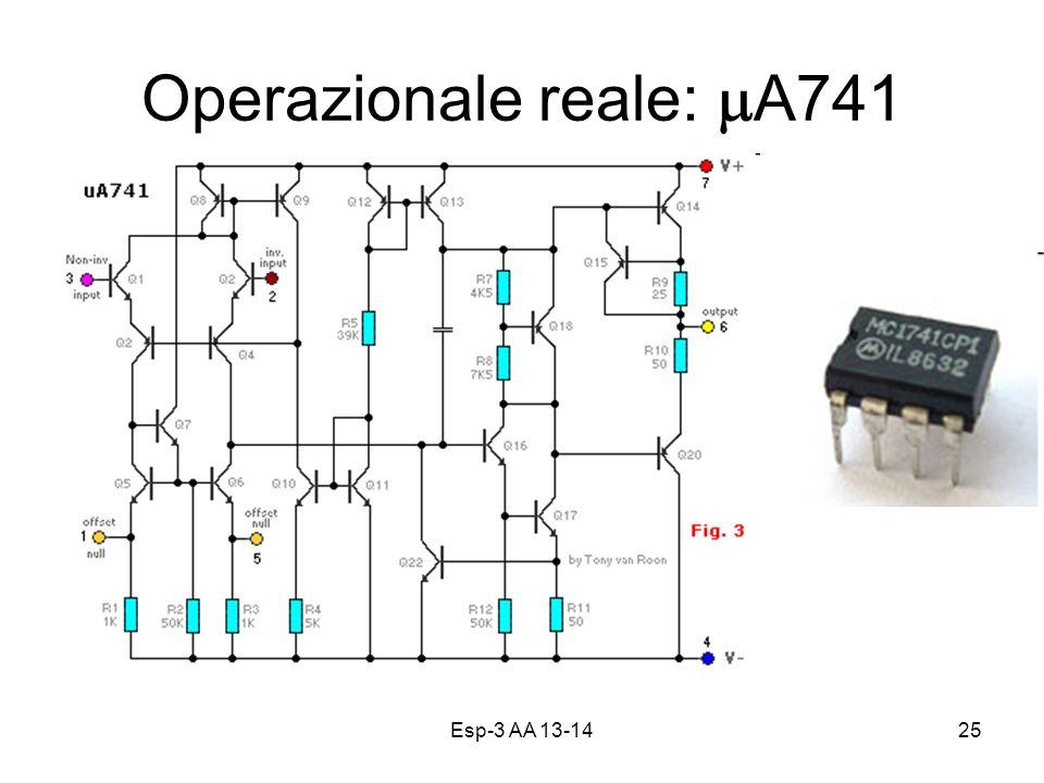 Operazionale reale: mA741