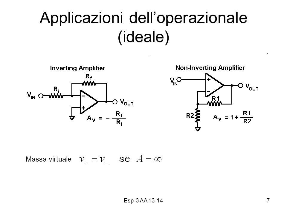 Applicazioni dell'operazionale (ideale)