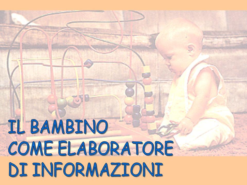 IL BAMBINO COME ELABORATORE DI INFORMAZIONI